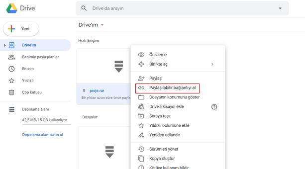 Google'dan Drive Bağlantıları için Güvenlik Güncellemesi!